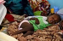 hospitalisation d'un enfant au Tchad