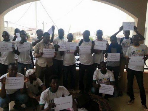 Étudiant tchadien de 2ei dans les locaux de leurs ambassade à Ouaga