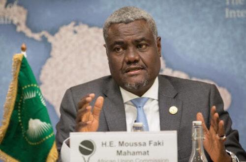 Article : UA: Le racisme et controverse de Moussa Faki